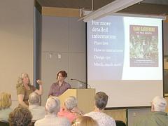 Presentation on rain gardening