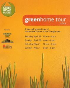 2009 Green Home Tourguide